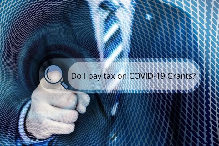 Tax on COVID-19 grants